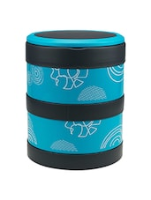 Blue Stainless Steel Lunch Box - By