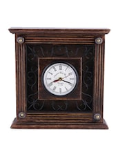 Handmade Wooden Vintage Wall Clock - Onlineshoppee
