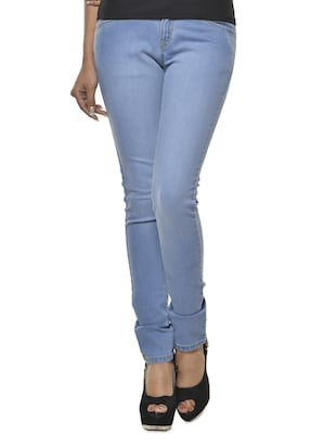 Light Blue Denim Lycra Jeans