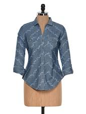 Blue Denim Shirt - Colors Couture
