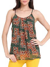 Forest Print Tank Top - Ridress
