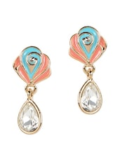 Lovely Multicolored Drop Earrings - YOUSHINE