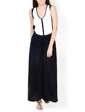 Chic Black Breezy Palazzo Pants - Pera Doce
