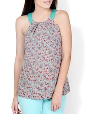 Floral Print Adorable Top - Pera Doce