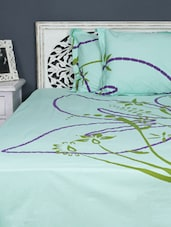 Double Bedsheet With Pillow Cover - Aarya Home - 962489