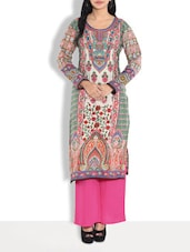 Multi Cotton Printed Kurta Palazzo Set -  online shopping for Sets
