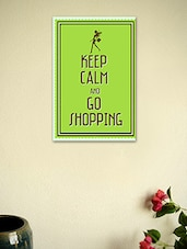 Keep Calm And Go Shopping-Quotes Poster - Seven Rays