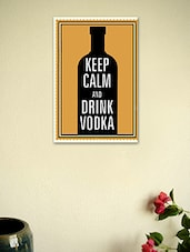 Keep Calm And Drink Vodka Poster - Seven Rays