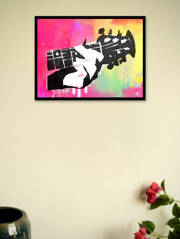 Poster framed art