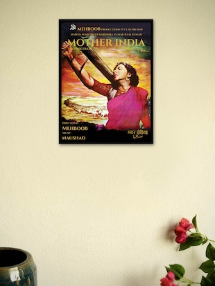 Mother India Movie Framed Poster