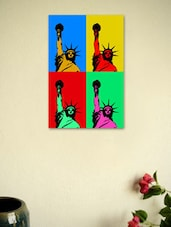 Statue Of Liberty Pop Art - Seven Rays