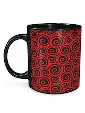 Mc Swirls Red Mug - Seven Rays