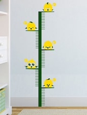 Happy Birds Yellow And Green Measuring Chart Decal - Chipakk