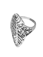 silver stainless steel ring -  online shopping for rings