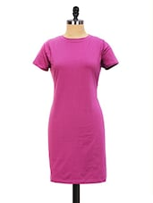 Long  T-Shirt Dress - Miss Chase