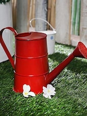 Watering Can Red - By