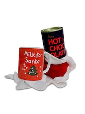 Set Of 1 Hot Chocolate, 1 Mug And 1 Goodie Bag - By