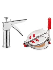 Combo Of Puri Maker & Kitchen Press - 07 - Amiraj