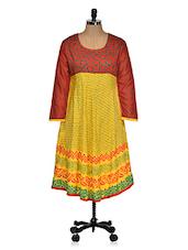 Festive Multi Color Kurta - Ridhi Siddhi