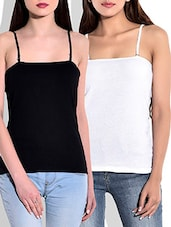 multi colored pure cotton combos camisole -  online shopping for Camisoles