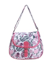 Casual Floral Printed Sling Bag - Art Forte