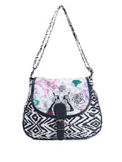 Butterfly Printed Casual Sling Bag - Art Forte