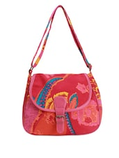 Bright Printed Sling Bag - Art Forte