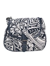 Monochrome Casual  Sling Bag - Art Forte