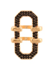 "Black & Golden ""O"" Ring - Oomph"