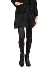 Black Velvet Trimmed Jacket - By