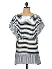 Women'S Striped Nautical Kaftan - Oxolloxo