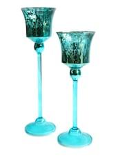 Stem Glass T-Lite Holder - Inspired Livingg