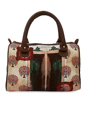 Alice In Mughal Digital Printed Hand Bag - Per Inch