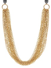 Elegant Gold Chain Necklace - By