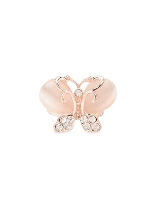 Butterfly Motif Studded Ring