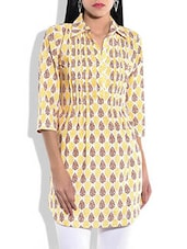 Multicolor cotton printed tunic -  online shopping for Tunics