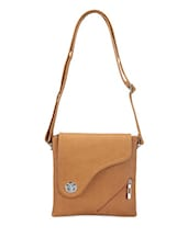 Chic Leatherette Sling Bag - Bags Craze