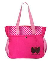 Bright Pink Casual Tote - Bags Craze