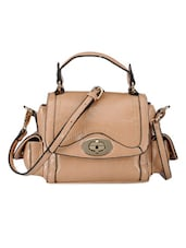 Stylish And Cool Brown Satchel - Bags Craze