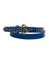 Textured Belt - Just Women