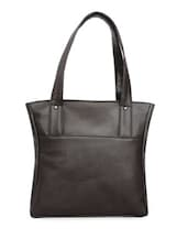 Brown Classy Handbag - La Volsa