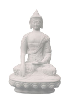 Handicrafts Paradise  sitting Buddha WM15037