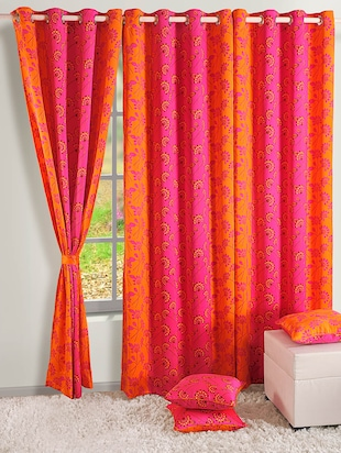 Premium Printed Curtain With Eyelets