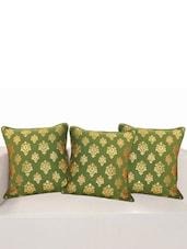 "Printed Deco Cushion Cover 16""X16"" (Set Of 2 Pcs) - SWAYAM"
