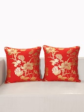 "Printed Deco Cushion Cover 16""X16"" (Set Of 2 Pcs) - SWAYAM"