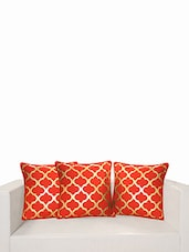 "Printed Deco Cushion Cover 16""X16"" (Set Of 2 Pcs) - SWAYAM - 978435"