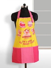 Digitally Printed Apron With Free Adjustable Size - SWAYAM