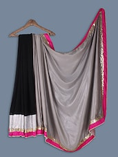 Chiffon Saree With  Heavy Work - Ethnictrend