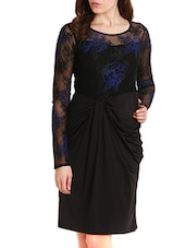 Black Lace  Dress -  online shopping for Dresses