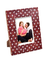 Bright Red Photo Frame: Small - The Yellow Door